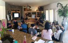 Valerie Sargent teaching EQ at a corporate retreat in Palm Springs