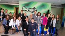 Tour of the Google office with ASEO