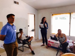Touring a local Fix & Flip Real Deal Tour with local investor community