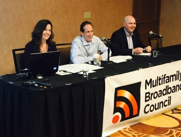 Valerie Sargent, Bryan Rader and Kevin Donnelly serving on MBC panel