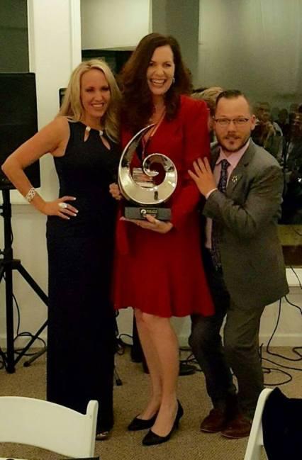 Valerie Sargent receives Leadership Award at So Cal Regionals 2016