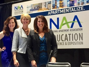 Valerie Sargent, Amy Kosnikowski and Marcie Williams present a session on Focus at NAA 2017